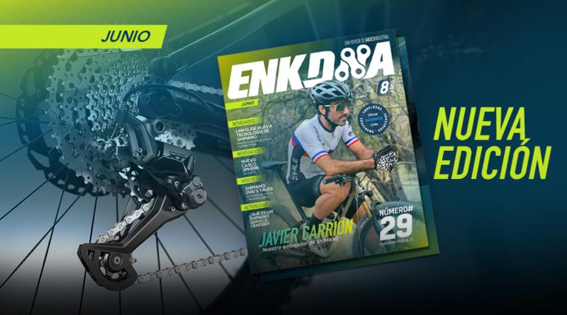 Shimano Linkglide y nuestro embajador Javier Carrión en la edición #29